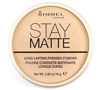 Rimmel Stay Matte Pressed Powder (001 -008) - 14G - London