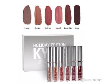 Kylie Holiday Edition- 6 Pcs