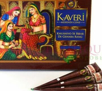 Kaberi Mehedi - 3 pcs (India)