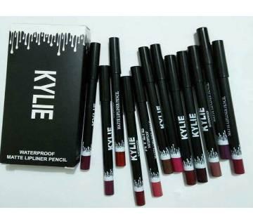 Kylie Pencil Lip Liner Set - 12 pcs - USA