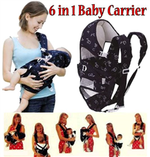 Baby Discovery 6 Way Baby Carrier Bag