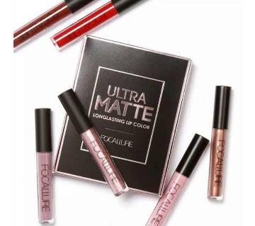 Focallure ultra Liquid Matt Long Lasting Lip Color - 3pieces (UK)