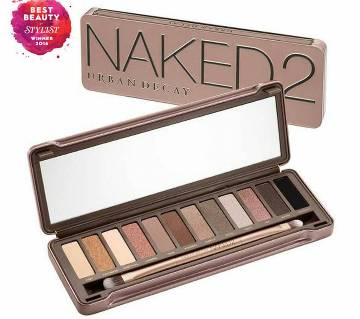 Naked 2 - ১২ কালার আইশ্যাডো + ব্রাশ (USA)