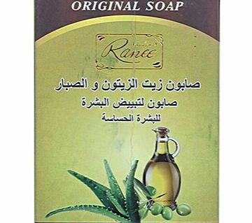 Madam Ranee Olive Oil And Aloe-Vera Soap - 100 gm
