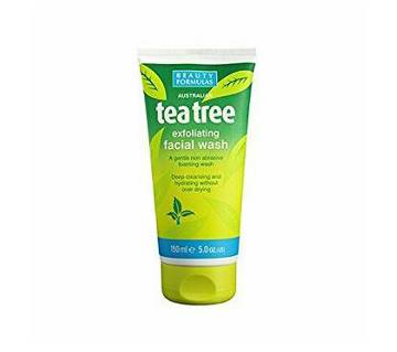 Tea tree face wash - 150ml (Aus)