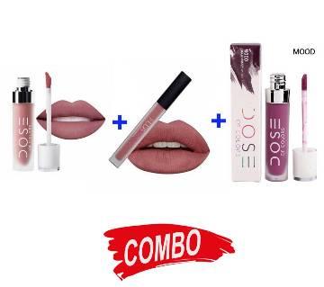 Huda beauty Liquid Matte Lipstick + Dose Of Colors Liquid Matte Lipstick -1pc (UK) + Dose Of Colors Liquid Matte Lipstick -1pc (UK) Combo Offer