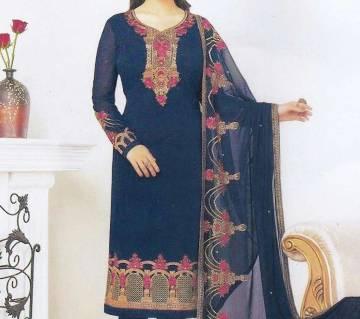 Indian Unstitched Georgette Three Piece (Copy)