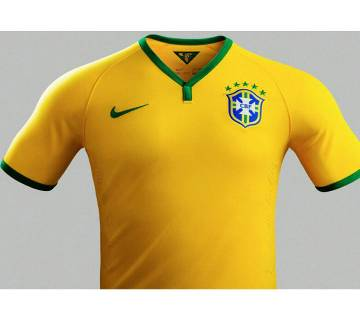 2018 World Cup Brazil Home Jersey