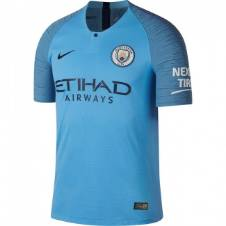 Manchester City Home Short Sleeve Jersey 2018-19
