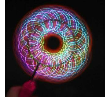 MAGNETIC GYRO Magic Spinning Rainbow Wheel