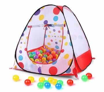 Kids Playing Tent with 50 balls