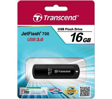 Transcend JetFlash 700 Pendrive 16GB