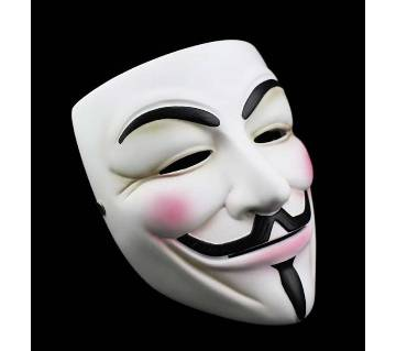 Vendetta মাস্ক - হোয়াইট