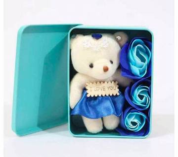 Panda doll and Soap gift box