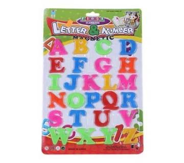 Plastic Letter Toy for Kids
