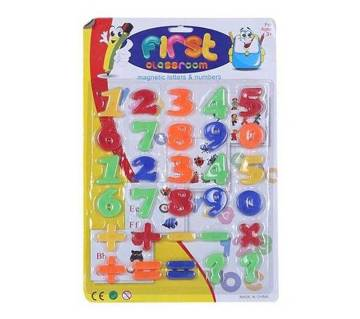 Plastic Number Toy for Kids
