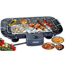 Electric Barbecue Grill Machine Fast Heater In Low Power - Black