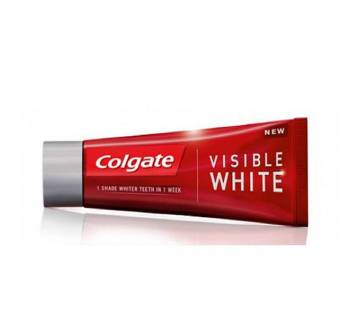 COLGATE VISIBLE WHITE TOOTH PASTE - 100GM