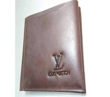 LV Gents Leather Wallet - Copy