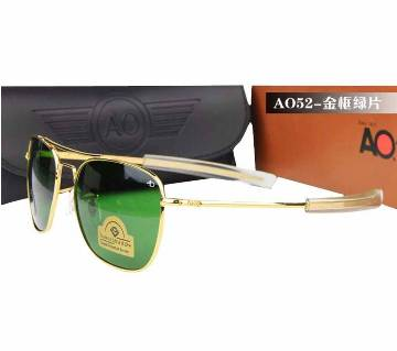 American Optical AO Diamond Golden Sunglasses - Copy