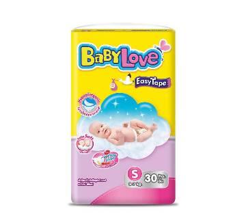 Baby Love-Easy Tape-Value Pack-30pcs (3-7 kg)