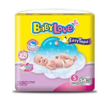 Baby Love -Easy Tape-Jumbo Pack-54pcs (3-7 kg)