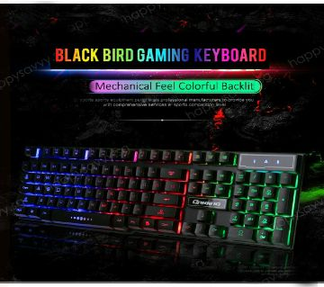 Suntech Zyg-800 Led Backlight RGB Gaming Keyboard