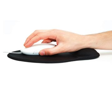 Wrist supportive Mouse Pad