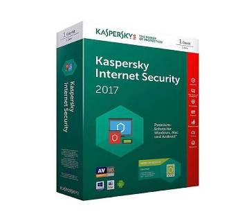 Kaspersky Antivirus for 1 User Internet Security