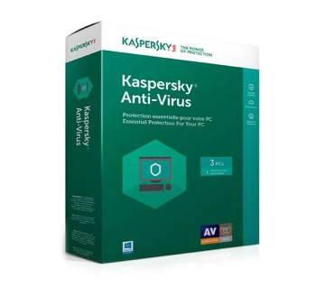 Kaspersky Antivirus For 3 User