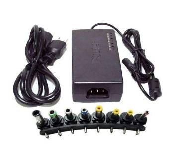 Universal Laptop AC Charger Adapter - Black