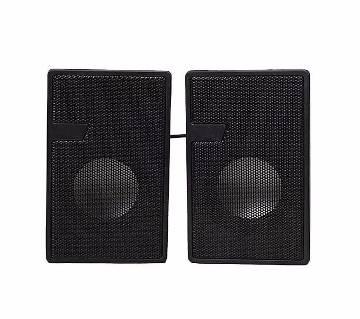 D7 Mini USB 2.0 Multimedia Speaker - Black