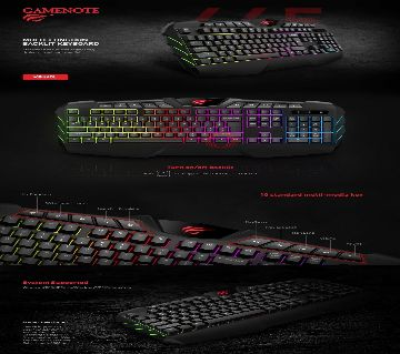 HAVIT KB465L USB Multi-function backlit Keyboard