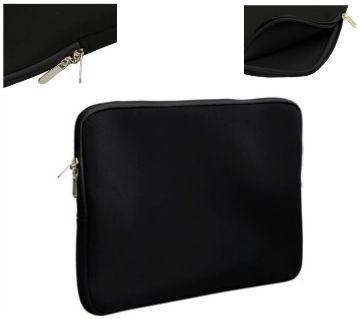 Laptop Pouch Bag with Zipper 15.6  Black