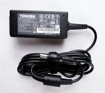 Toshiba  Laptop Charger Adapter - Black 19V x 3.42A