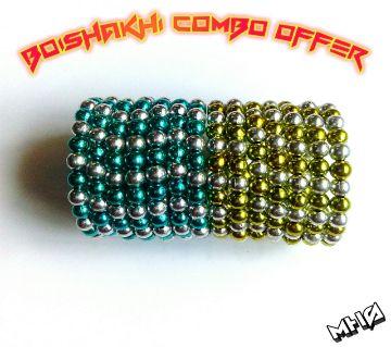 Boishakhi Combo Wooden Bracelet Offer Limited Stock
