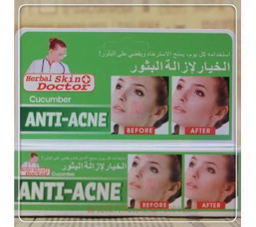 CUCUMBER ANTI ACNE Cream 30g Thailand