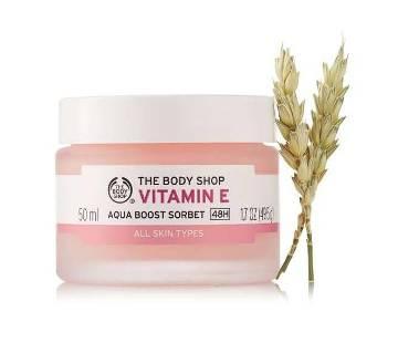 The Body Shop Vitamin E Aqua Boost Sorbet 50ml UK