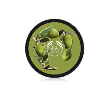 The Body Shop Olive Exfoliating Cream Body Scrub 250ml UK