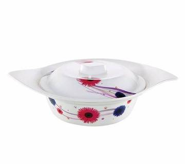 Flower Soup Bowl with Lid Daisy