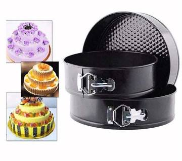 ROUND SHAPE CAKE MOULD ( 3 PCS )