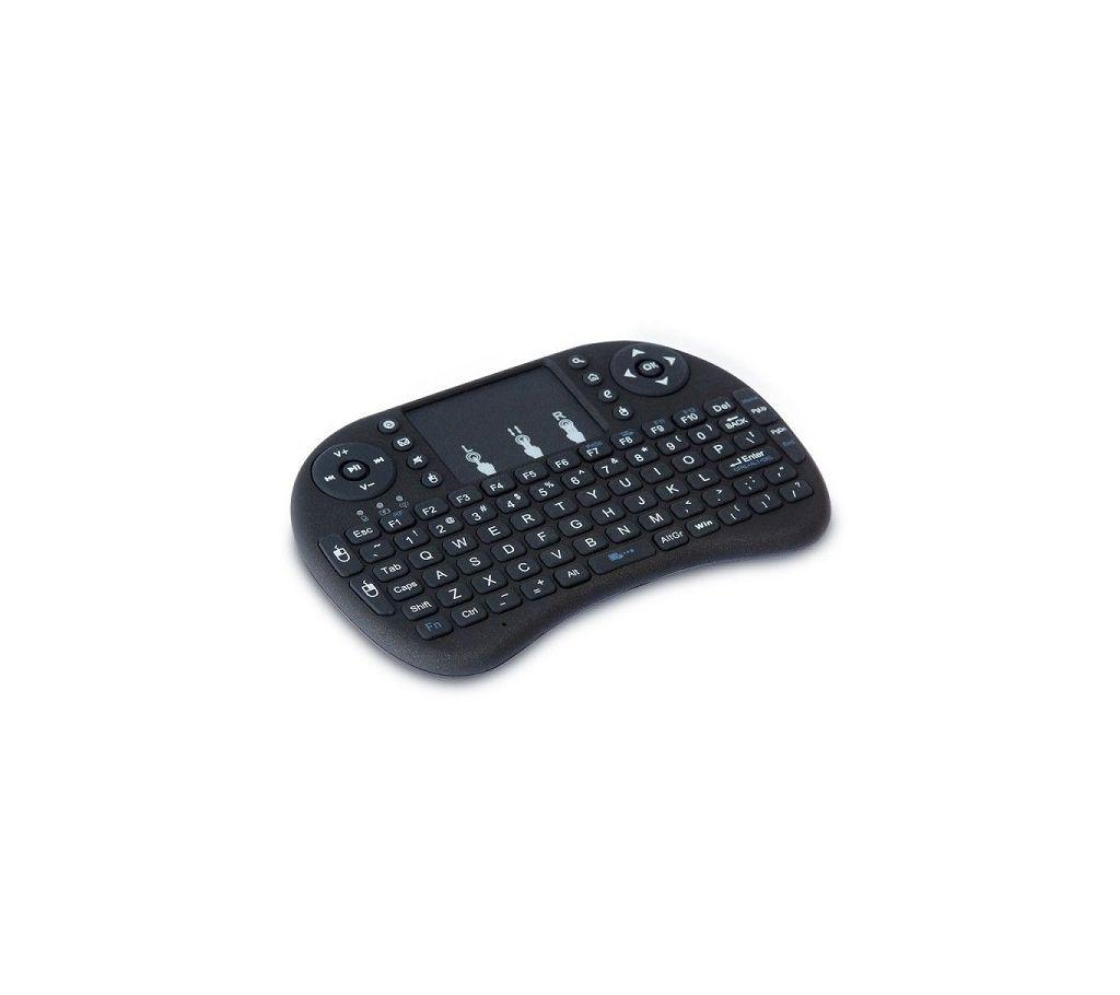 Mini Multi-media রিমোট কন্ট্রোল অ্যান্ড টাচপ্যাড ফাংশান হ্যান্ডহেল্ড কিবোর্ড বাংলাদেশ - 1024294