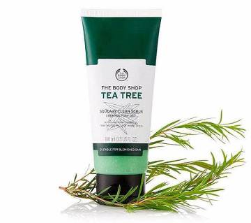 Tea Tree Squeaky Clean Scrub 100ml UK