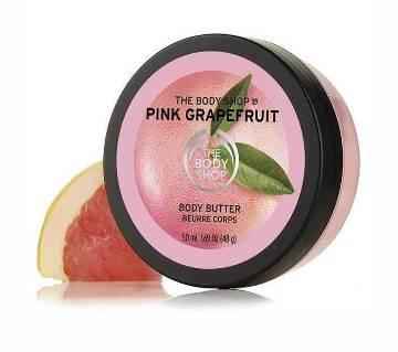 The Body Shop Pink Grapefruit Energising Body Butter uk