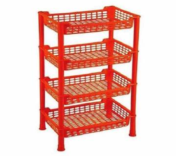 4 Step Beauty Rack Red