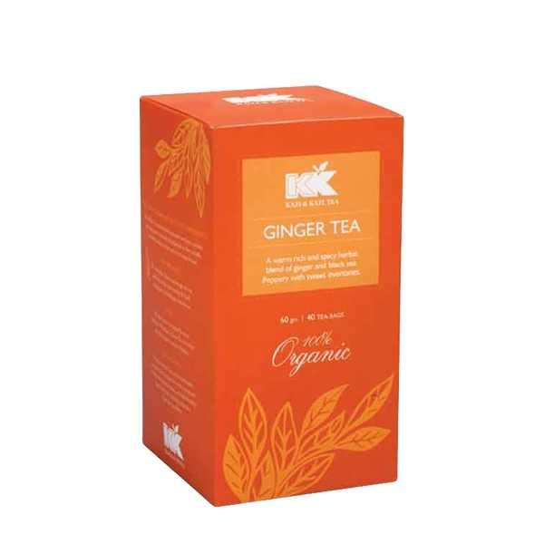 Kazi & Kazi Ginger Tea 60 gm 40 pcs
