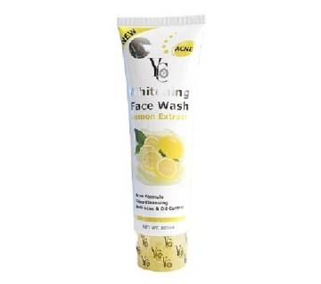 YC Whitening Face Wash Lemon - 100g