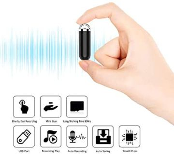 Abs S1 Voice Recorder Material Professional High-definition Noise Reduction Long Standby Portable Recorder