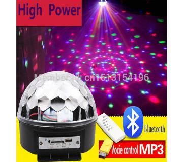 LED Crystal Magic Ball Rotating Light RGB