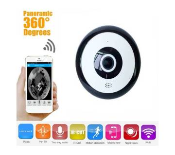 Fisheye 360 Degree Panoramic Wireless WiFi IP CCTV
